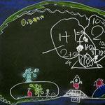 「昔の地球」 キム・テサン 中大阪朝鮮初級学校