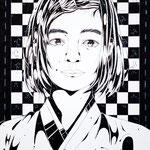 「自画像」 ハン・ユヒャン 東京朝鮮第一幼初中級学校