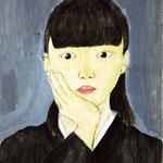 「自画像」 ハ・ギョンス 東京朝鮮第一幼初中級学校