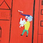アニメーション「人と犬の争い」 6年生Aチーム 尼崎朝鮮初中級学校