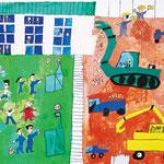 「待ち遠しい新校舎完成」 リャン・ユンテ 東京朝鮮第一幼初中級学校