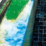 「川辺の石畳」 キム・ファジョン 北陸朝鮮初中級学校