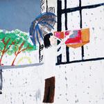 「新聞配達するオモニ」 キム・エヒャン 中大阪朝鮮初級学校