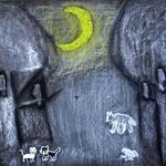 「夜の美しい動物達」 キム リンソン」福岡朝鮮初級学校