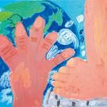 「持ち上げたい地球・踏みたい宇宙」 ホ・チャンテ 岐阜朝鮮初中級学校