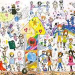 「人気なロボット」 チョン・ユナ 名古屋朝鮮初級学校