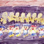 「科学博物館で見た骸骨」 リ・サンオ  東京朝鮮第一幼初中級学校