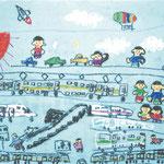 「鉄道博物館」 チョ・テフィ 西東京朝鮮第一初中級学校