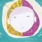 「自画像・世界に一つだけしかない卵」 パク・ケドゥ 尼崎朝鮮初中級学校