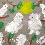「小鳥たちのパーティー」 カン・ジュファ 東京朝鮮第四初中級学校