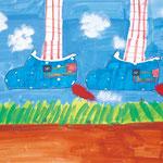 「空を飛べる靴」 ユン・チナ 西東京朝鮮第一初中級学校