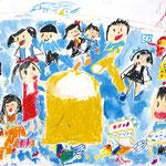 「もちつき」 チャン・ハヌル 京都朝鮮初級学校