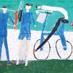「ぼくが見る風景-危険な人-」 チョ・リョンフィ 長野朝鮮初中級学校