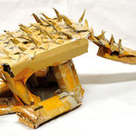 「カブト戦士 アンキロザウルス」 チョン ヒョンウ、キム リソン 神戸朝鮮初中級学校