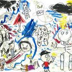 「オバケの町」 ピョン・ソンゴン 大阪朝鮮第四初級学校