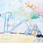 「思い出のつまった飛行場」 ファン・ルナ 西神戸朝鮮初級学校