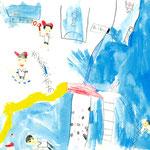 「楽しい春の遠足」 ムン・ミョンセン 東大阪朝鮮初級学校