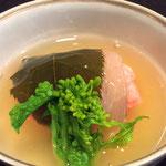 鯛の桜蒸し 735円
