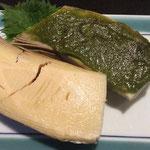 筍木の芽田楽 600円