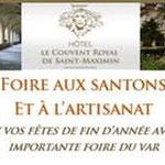 Foire aux santons et à l'artisanat St-Maximin la Sainte-Baume