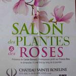 Salon des Plantes et des Roses Château Sainte-Roseline