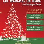 Marchés de Noël anglais et provençal du Château de Berne