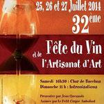 Fête du vin et Artisanat d'Art St-Rémy de Provence