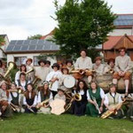 Gruppenbild bei der 1000 Jahrfeier 2007