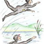 Bärbel Eberius, Moorella und Stummelzahn schwimmen