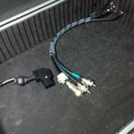 Connessioni N per V/UHF cavo RG8 XX ed 2 H155 per VHF