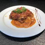 Hausgemachte Lasagna