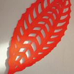Raumsprung- Variationen _ Schnitt (Pigmente auf Pappe oder Holz) Auflage je 5 / 120 cm