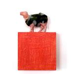 man muss nur Schaf genug sein ( Holzobjekt Auflage) 320,00 €