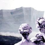 Eisschollenpanorama