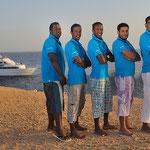 Our Seamen Bako Bossa, Mustafa, Amr, Hani (Mechanic), Momo