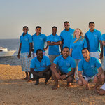 The Blue Waves Crew at Brohters Island