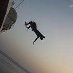 Die Akrobatischen Künste unserer Crew und Gäste.