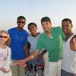 Chris, Maher, Tiger, Nader and Hamada