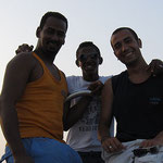 Mahmoud with Tiger and Abdo together