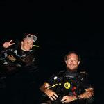 Ready to Dive? Auf in den Nachttauchgang...