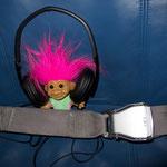 Das Scubaviva Maskottchen wieder auf dem Heimweg. :-(  Foto von Dave Kissner
