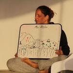 Foto von Elke Roman - Simi beim ersten Tauchbriefing :-)