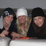 Stefi, Chris and Sabine - Blue Waves Friends