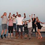 Viel Spass mit unseren Gästen am Daedalus Lighthouse