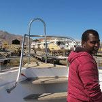 Bako Bosa hat Land in Sicht :-)