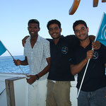 The Blue Waver: Maher, Ahmed, Hani - from the first day on they were in the Team - never wanna miss them! :-)