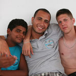Little Momo, Abdo and Fabio
