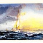 Jalna, aquarelle de Dereck Moore