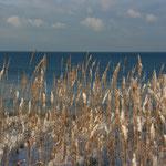 ... mit Blick auf's Meer