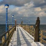 die Seebrücke von Zingst